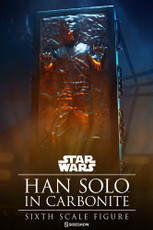 sideshow collectibles han solo in carbonite sixth scale figure