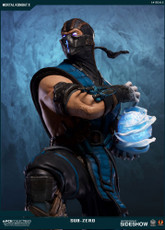 pop culture shock collectibles sub zero quarter scale statue