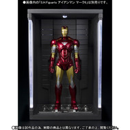 tamashi nations S.H. Figuarts Iron Man Mark VI & Hall of Armor 1:12 Scale Set