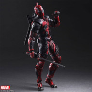 square enix marvel variant play arts kai deadpool figure