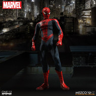 mezco toyz one 12 collective spider-man action figure