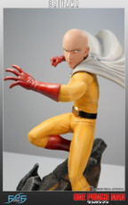 first 4 figures one punch man saitama statue