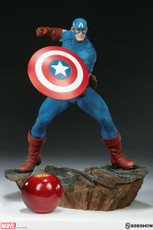 sideshow collectibles avengers assemble captain america statue