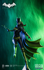 iron studios batman arkham knight 1/10 scale art statue batgirl