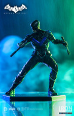 iron studios batman arkham knight 1/10 scale art statue nightwing