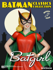 tweeterhead batman classic collection batgirl maquette
