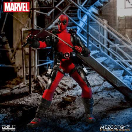 mezco toyz one 12 collective deadpool figure