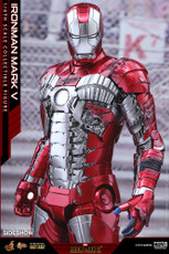hot toys iron man mark v diecast 1/6 scale figure 1