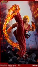 pop culture shock street fighter ken masters ultra statue