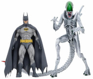 neca batman vs alien 7 inch action figure two pack