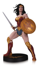 dc designer series wonder woman statue by frank cho