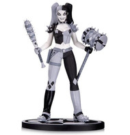 dc collectibles batman black and white harley quinn statue by amanda conner