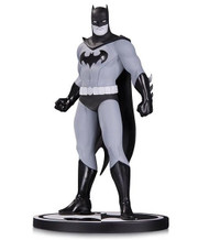 dc collectibles batman black and white statue by amanda conner
