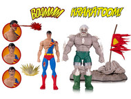 dc collectibles dc icons doomsday death of superman deluxe action figure 2 pack