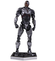 dc collectibles justice league movie cyborg statue