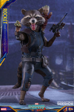hot toys guardians of the galaxy vol 2 rocket 1/6 scale figure
