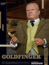 big chief studios james bond auric goldfinger 1/6 scale figure