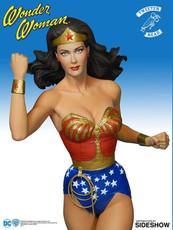 tweeterhead new adventures of wonder woman maquette