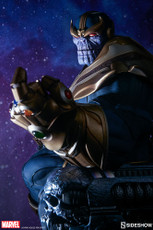 Sideshow Collectibles Thanos On Throne Maquette-a