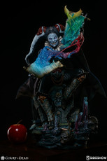 Sideshow Collectibles Malavestros: Death's Chronicler - Fool Premium Format Figure-a