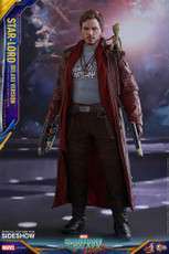 hot toys guardians of the galaxy vol 2 star lord deluxe sixth scale figure