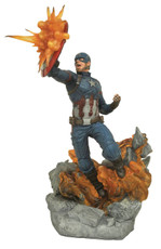 Diamond Select Toys Marvel Milestones Civil War Captain America Statue