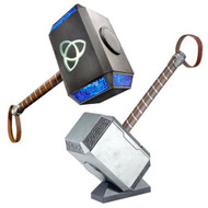 hasbro marvel legends thor mjolnir hammer electronic prop replica