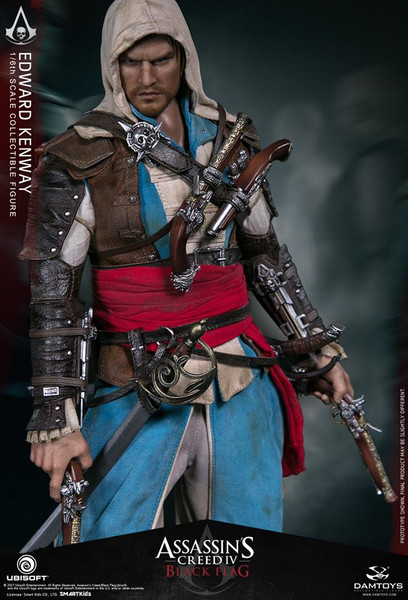 damtoys assassins creed edward kenway sixth scale figure