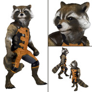 neca rocket raccoon life size figure