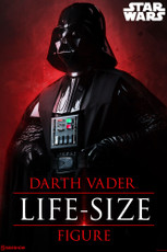sideshow collectibles darth vader life size figure