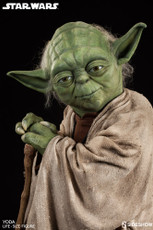 sideshow collectibles yoda life size figure