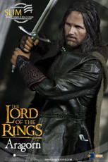 asmus toys lord of the rings aragorn slim version sixth scale figure