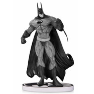 batman black and white statue by simon bisley