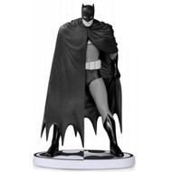 batman black and white statue by dave mazzucchelli