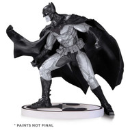 batman black and white statue by lee bermejo