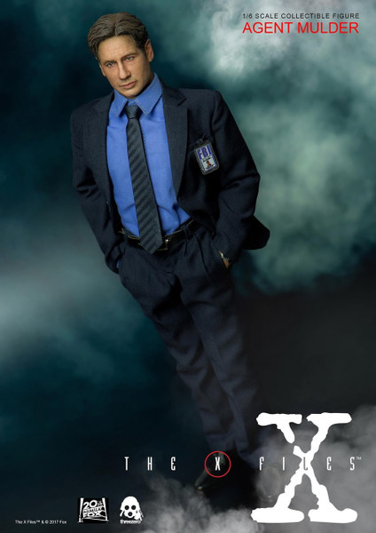 x files fox mulder sixth scale figure threezero