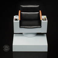 star trek sixth scale captains chair qmx