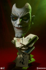 Joker Face of Insanity Life-Size Bust