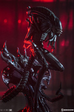 Alien Warrior Statue
