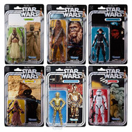 star wars black series 40th anniversary 6 inch action figures