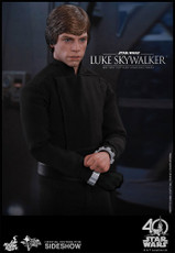 hot toys luke skywalker sixth scale figure return of the jedi