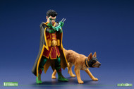 DC Universe Robin and Bat-Hound ARTFX+ 2 Pack