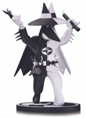 Batman Black and White: Spy vs. Spy as Batman by Peter Kuper Statue
