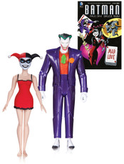 batman animated mad love joker harley quinn 2 pack