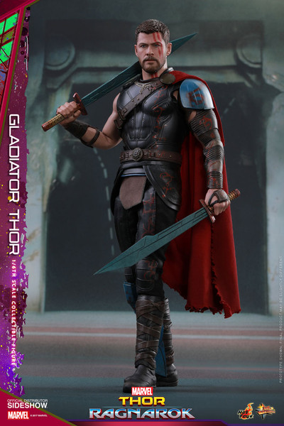 Gladiator Thor Sixth Scale Figure by Hot Toys - Alter Ego ...