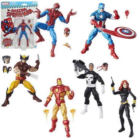 hasbro marvel legends vintage series action figures 001