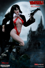 Vampirella SHCC Exclusive 1/6 Scale Action Figure 001