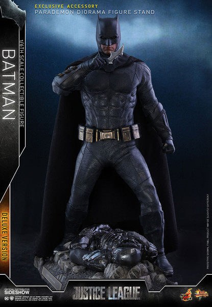 hot toys justice league batman deluxe sixth scale figure