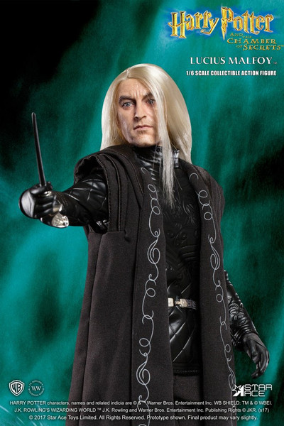 star ace lucius malfoy 1/6 scale figure