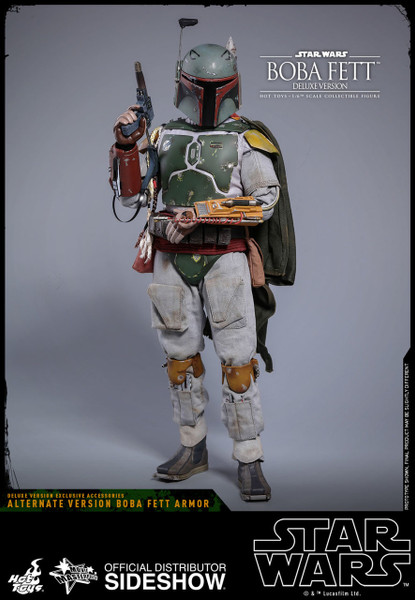 hot toys boba fett deluxe version one sixth scale figure